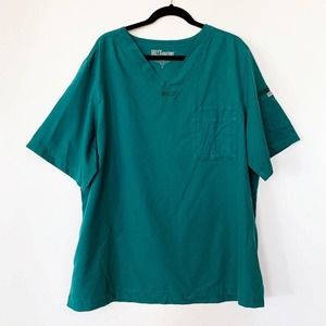 Grey's Anatomy BARCO 3 Pocket V-Neck Scrub Top XL
